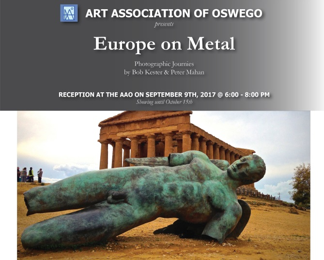 Europe on Metal Exhibit